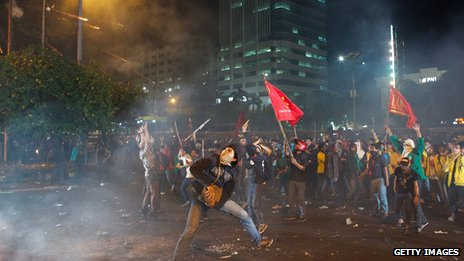 Indonesia rioters