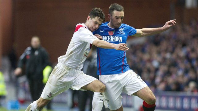 Rangers v Airdrieonians