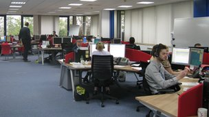 Serco Care Coordination Centre in Ipswich