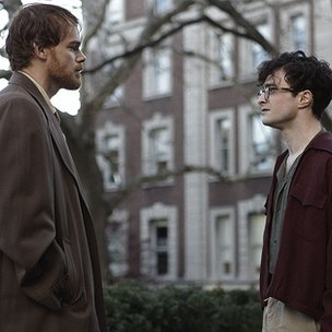 Michael C Hall and Daniel Radcliffe