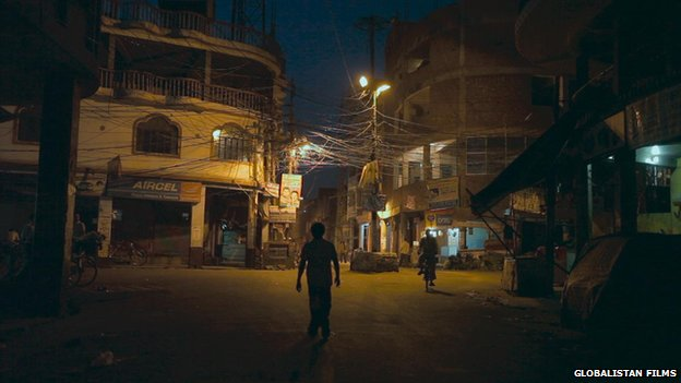 Kanpur at night