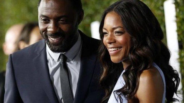 Idris Elba and Naomie Harris