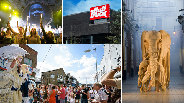 Various images of Hull's cultural offering