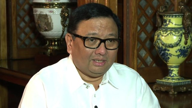 Philippines Cabinet Secretary Rene Almendras