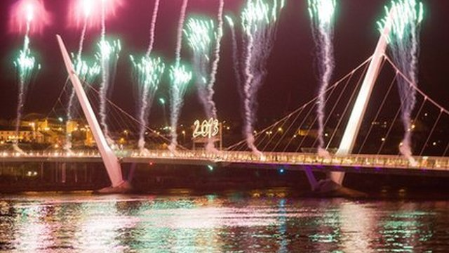 Londonderry celebrates its 2013 City of Culture status