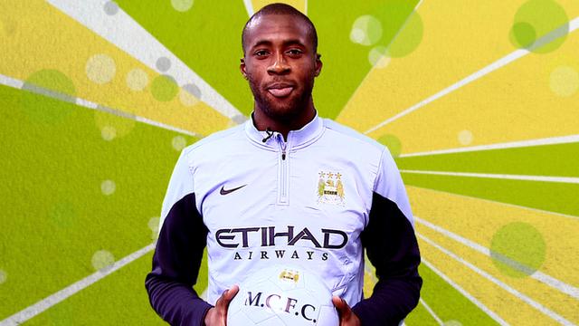 African footballer of the year - Yaya Toure
