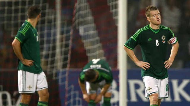 Northern Ireland fell to a 1-0 defeat in Turkey