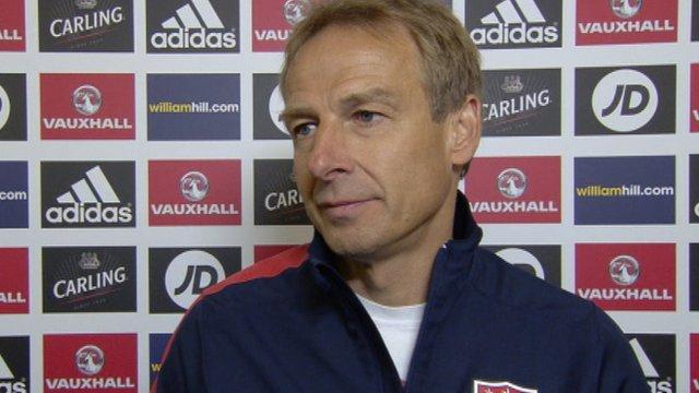 Interview - USA coach Jurgen Klinsmann