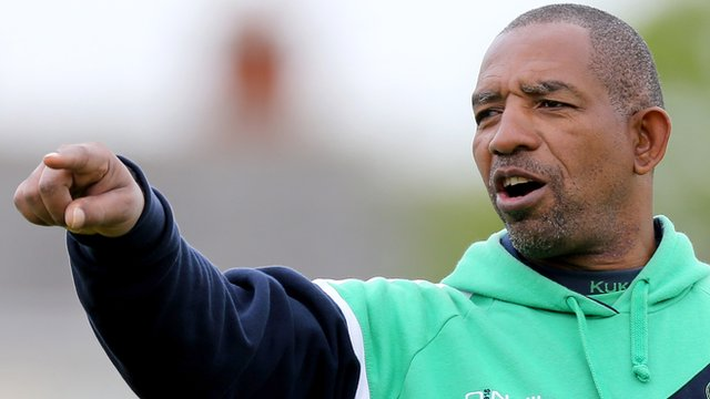 Ireland cricket coach Phil Simmons