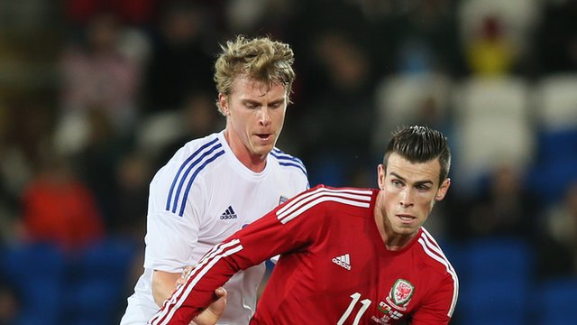 Wales' Gareth Bale in action against Finland
