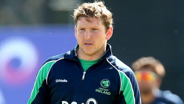 Ireland's Gary Wilson