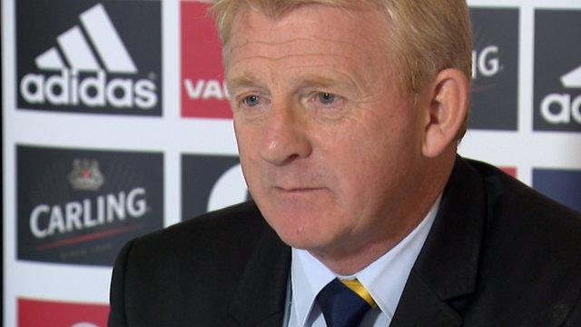 Interview - Scotland boss Gordon Strachan