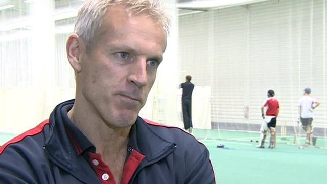 Lancashire head coach Peter Moores