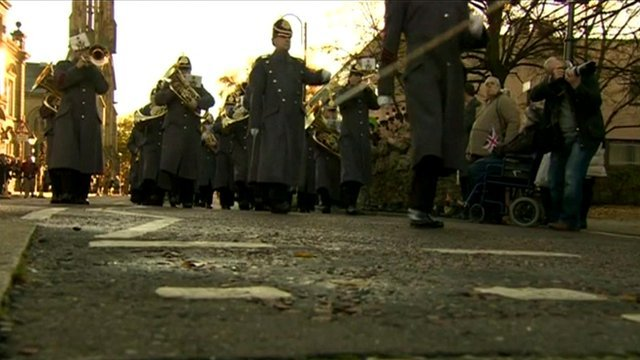 Fusiliers' homecoming