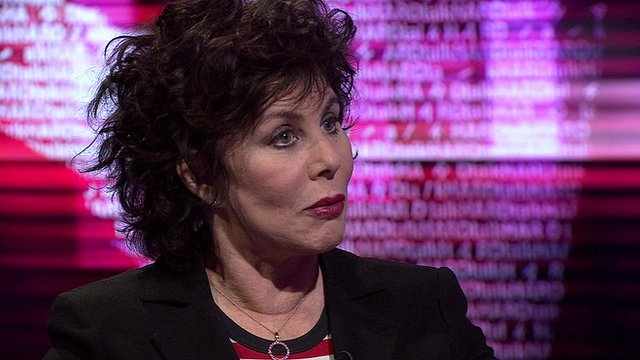 Writer, performer and mental health campaigner Ruby Wax