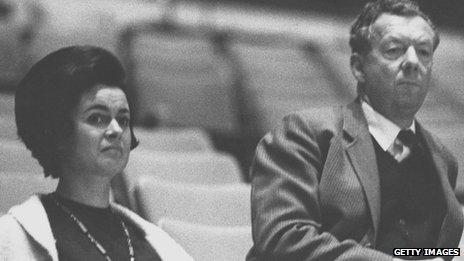 Marion Stein (Thorpe) and Benjamin Britten