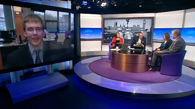 Studio debate on Doctor Who