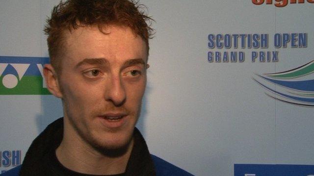Interview - Glasgow badminton player Kieran Merrilees
