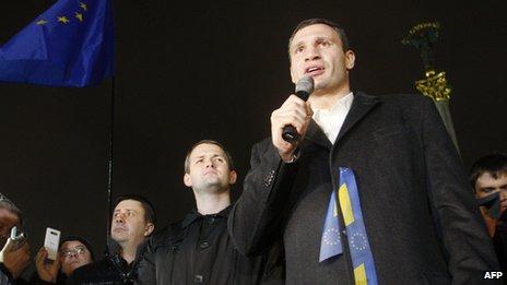 Ukraine mass protest, 22 Nov 13