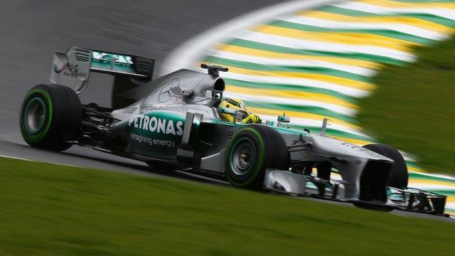 Mercedes' Nico Rosberg