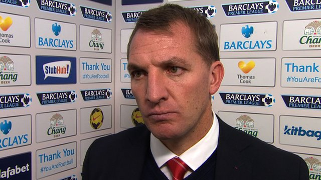 Liverpool manager, Brendan Rodgers