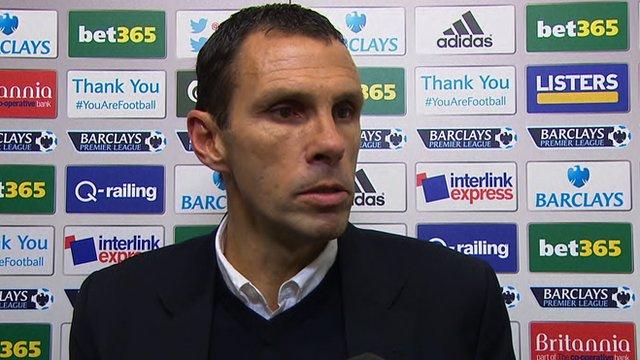 Sunderland manager, Gus Poyet