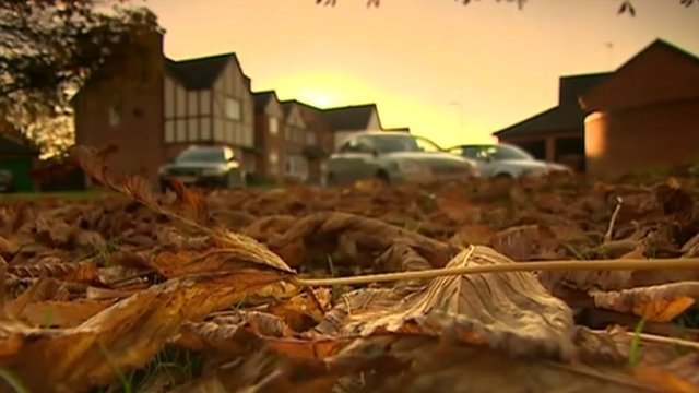 Blurred image of houses in Pioneer Close