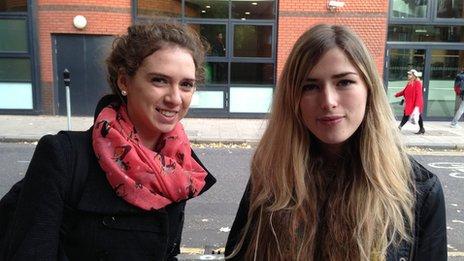 Saskia Brockington and Olivia