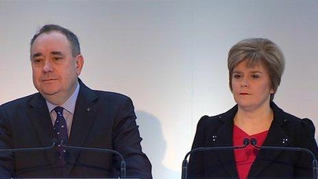 Salmond & Sturgeon