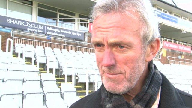 Durham head coach Geoff Cook