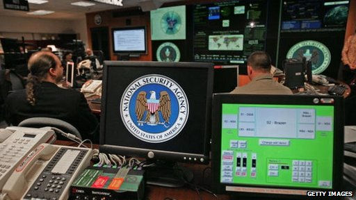NSA operation at Fort Meade, Maryland
