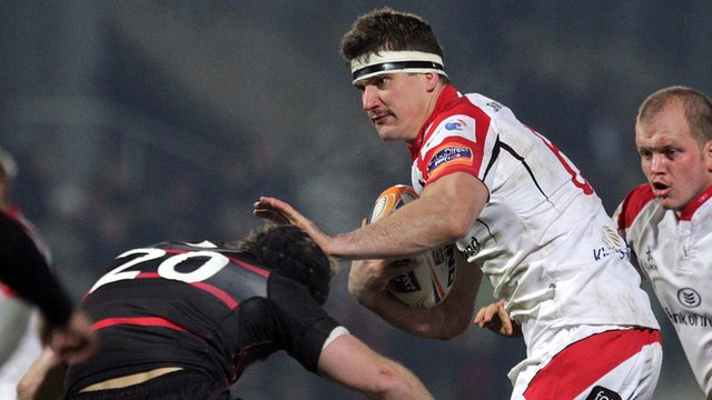 Robbie Diack in action against Edinburgh