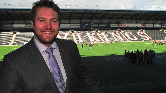 Widnes chief executive James Rule