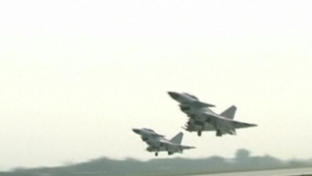 Chinese fighter jets