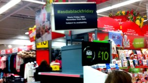 Scenes Of Chaos During Chain Store S Black Friday Sales Bbc News