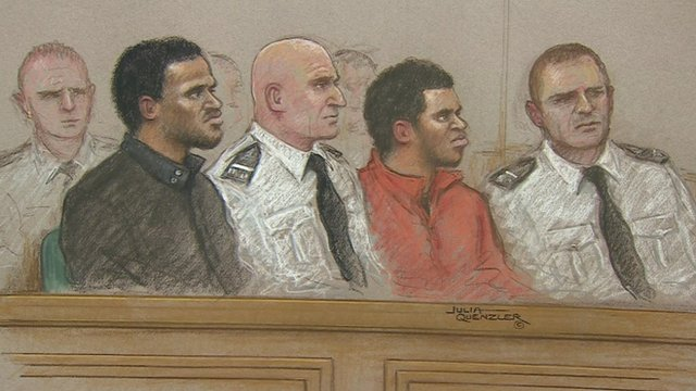 Michael Adebolajo, 28, and Michael Adebowale, 22, in court