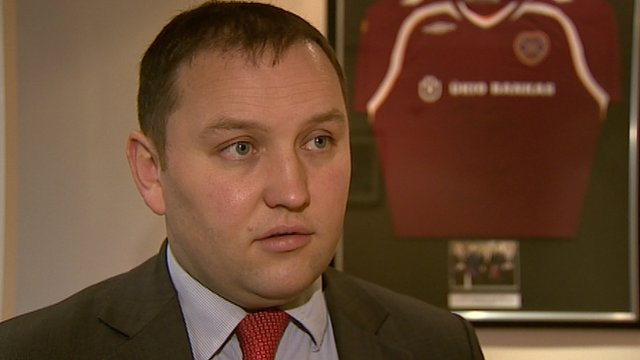 Interview - Foundation of Hearts chairman Ian Murray