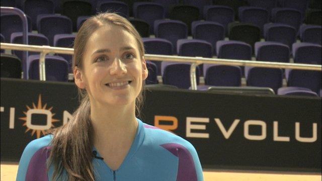 Scottish track cyclist Ellie Richardson