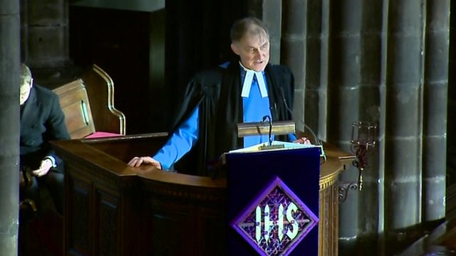 Reverend Laurence Whitley