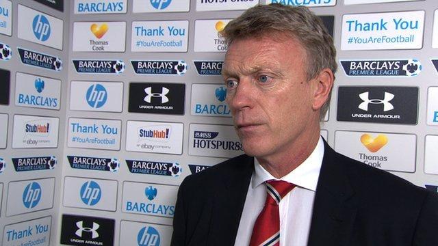 Manchester United manager David Moyes