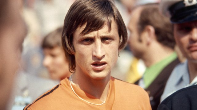 The Netherlands' Johan Cruyff