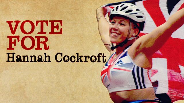 Paralympic gold medallist Hannah Cockroft