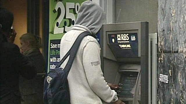 RBS cash point users