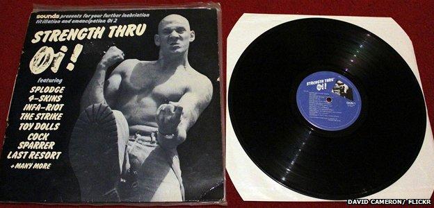 Album cover for Strength Thru Oi
