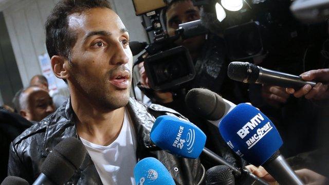 French-Algerian footballer Zahir Belounis