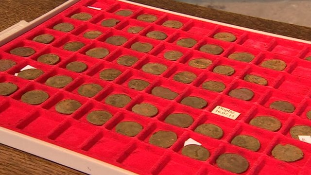 Roman coin hoard