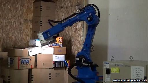 Industrial Perception robot