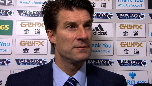 """Michael Laudrup says Swansea """"needed"""" their 3-0 win over Newcastle after two successive defeats."""