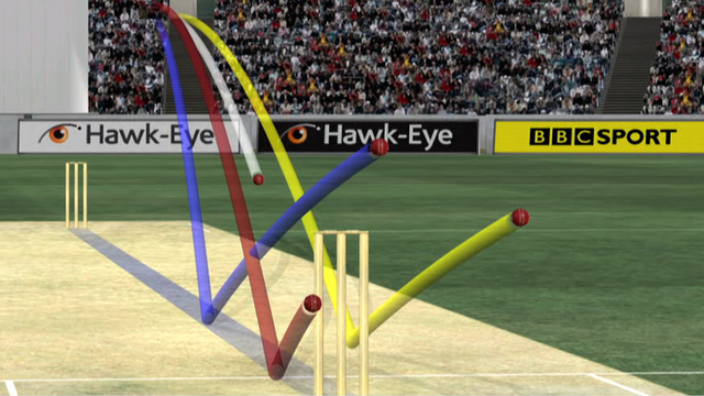 Hawk-Eye analysis graphic