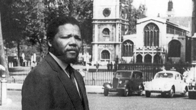 Nelson Mandela in London